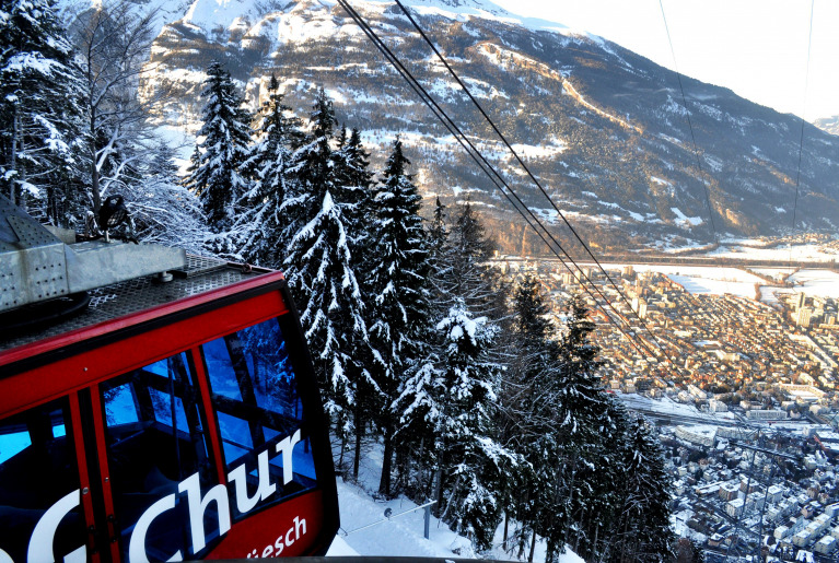 Chur cable car