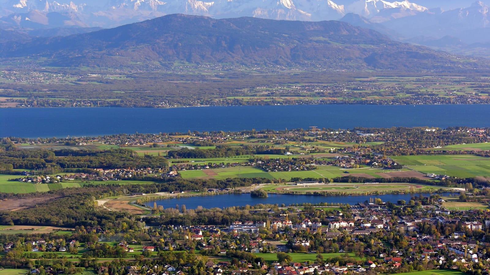 Divonne-les-Bains city's view