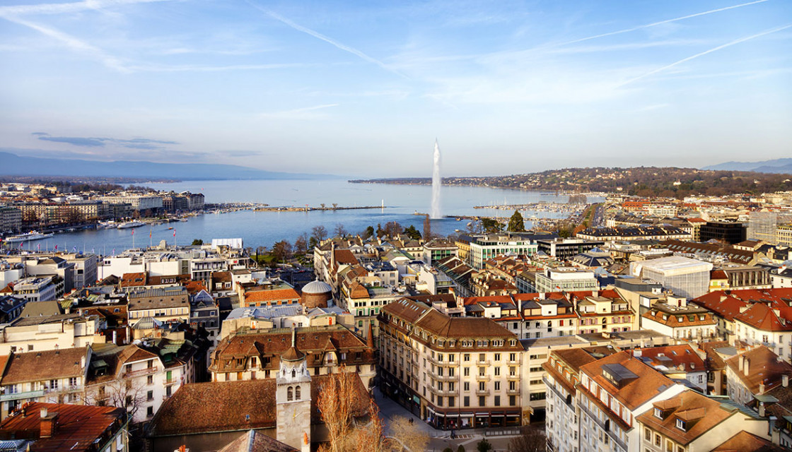 Geneva City view