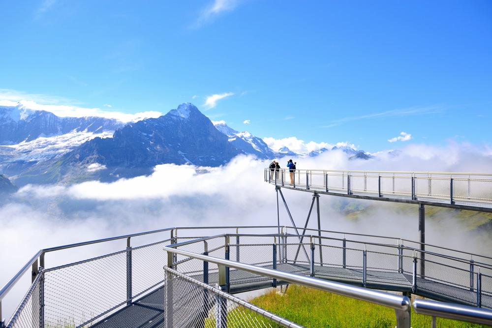 Grindelwald Eiger trail