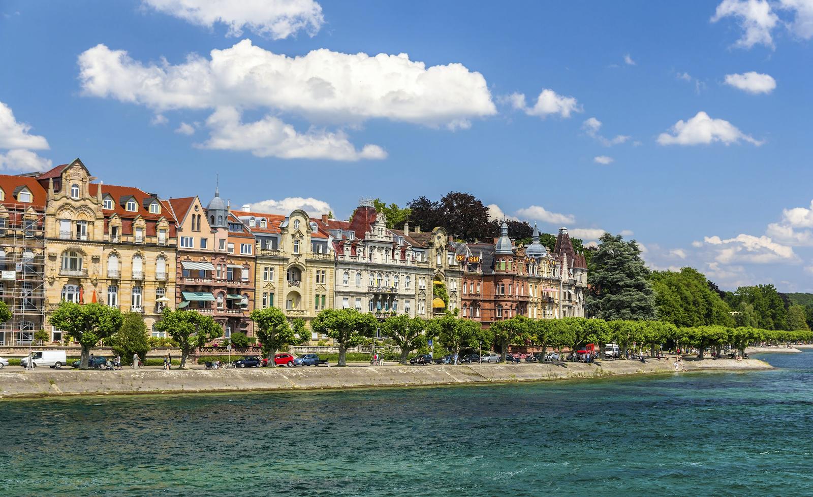 Konstanz city's view