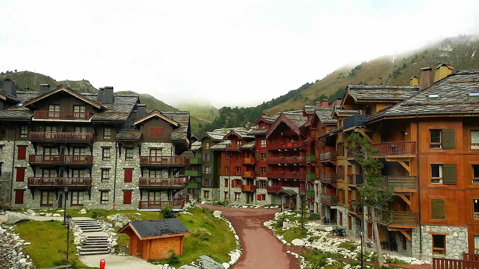 Les Arc skii area