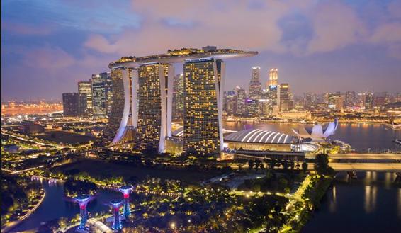 photo de la ville singapour