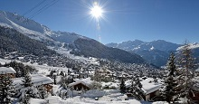 Verbier transfer in limousine